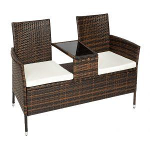 banc de jardin resine comparer 95 offres. Black Bedroom Furniture Sets. Home Design Ideas