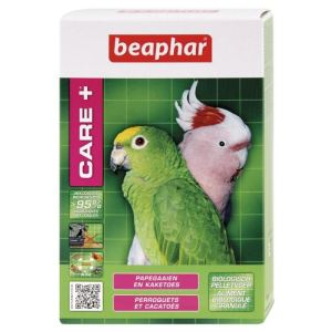 Beaphar Care + - Aliment pour Perroquets et Cacatoès (1 kg)
