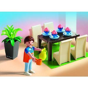 Playmobil 5335 salle manger comparer avec for Salle manger playmobil