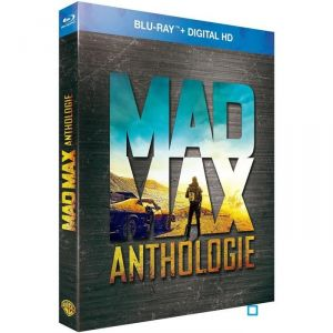 Coffret Mad Max Anthologie - Mad Max + Mad Max 2 + Mad Max 3 + Mad max 4