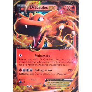 Asmodée Dracaufeu Ex - Carte Pokémon 11/106 Série Xy Étincelles