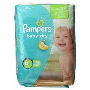 Pampers Baby Dry taille 6 Extra large (+16 kg) - 19 couches