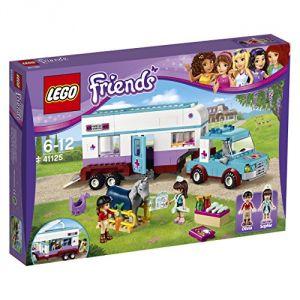 Lego 41125 - Friends : La remorque à chevaux du vétérinaire