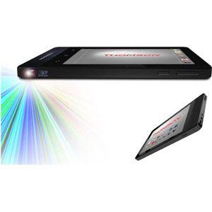 """Thomson THVID-7,16 - Tablette tactile pico-projecteur 7"""" 16 Go sous Android 5.1"""