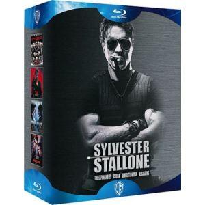 Coffret Sylvester Stallone - Cobra + Demolition Man + Assassins + Expendables : Unité spéciale