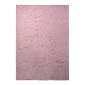 Esprit home Lily - Tapis effet 3D floral (70 x 140 cm)