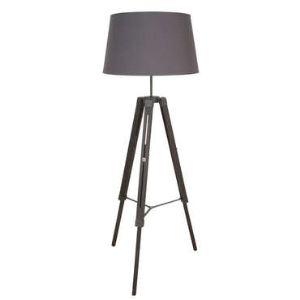 Corep Octave - Lampadaire trépied en bois 163 cm
