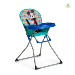 Hauck Mac Baby Mickey Geo blue - Chaise haute bébé