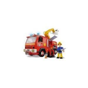 Simba Toys Camion de pompiers Jupiter et Sam le pompier