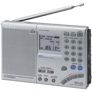 Sony ICF-SW7600GR - Radio portable fonction horloge et réveil
