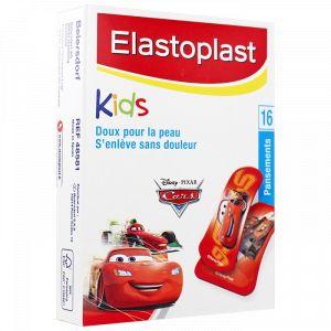 Elastoplast Kids - Pansements doux Cars, 16 unités