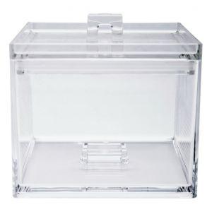 Zak! Designs Boîte de rangement empilable L en plastique