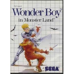 Wonder Boy in Monster Land sur Master System