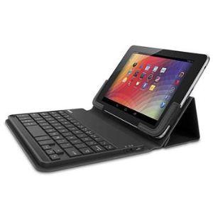 """Belkin F5L146edBLK - Etui avec Clavier Bluetooth Universel pour Tablette tactile 7"""""""