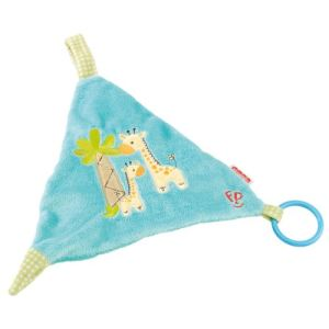 Fisher-Price Doudou accroche tétine Girafe
