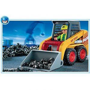 Playmobil 4477 - La vie au port Docker / Tracteur Dumper