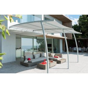 pergola aluminium 4x4 comparer 84 offres. Black Bedroom Furniture Sets. Home Design Ideas