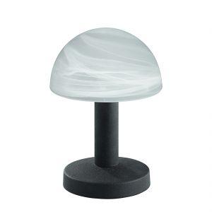Lampe tactile 1 éclairage en métal et verre (21 cm) 40 W