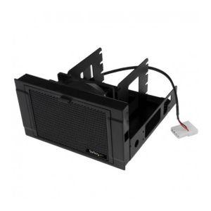 """StarTech.com BRACKET425F - Support de montage pour 4 disques durs de 2,5"""" avec ventilateur de refroidissement"""
