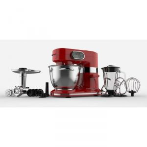 Robot multifonction rouge 1000w comparer 15 offres for Robot cuisine professionnel