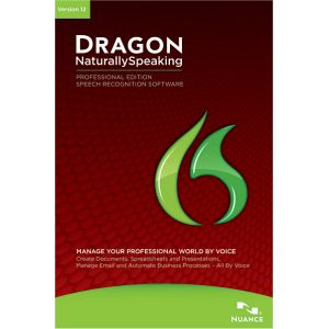 Dragon NaturallySpeaking Pro v12 pour Windows