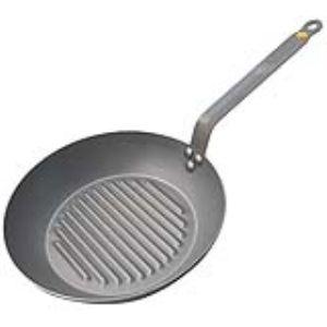 De Buyer 5613.26 - Poêle grill Mineral B Element (26 cm)