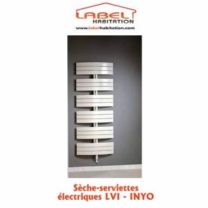 Lvi 3880011 - Sèche-serviettes Inyo 500 Watts