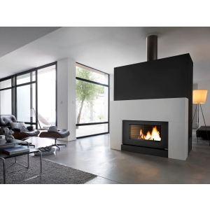 Invicta 6120 - Poêle-cheminée Onyx