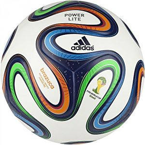 Adidas F82346 - Ballon de foot enfant Brazuca Junoir 350 - taille 4-5
