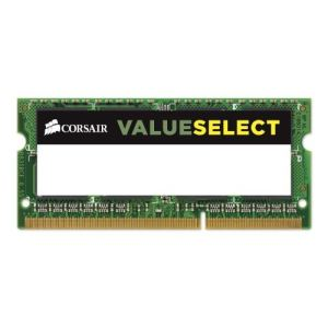 Corsair CMSO4GX3M1C1600C11 - Barrette mémoire Value Select 4 Go DDR3L 1600 MHz CL11 SoDimm