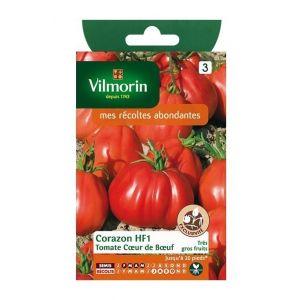 Vilmorin Tomate coeur de boeuf Corazon HF1 - Sachet graines