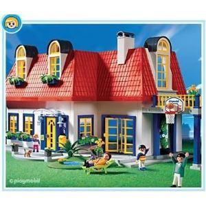 Maison de ville playmobil comparer 3 offres for Piscine maison moderne playmobil