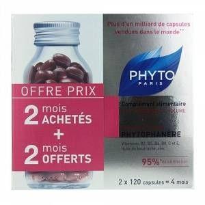 Phyto Paris Phytophanère - Complément alimentaire antichute et fortifiant (2 x 120 capsules)