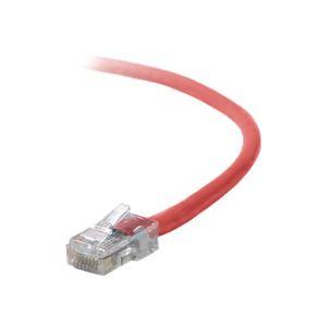 Belkin A3L791B01M-RED - Câble réseau Cat5e UTP 1m Assembled