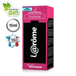 L@rôme E-Liquide saveur framboise V2 (Nicotine 0) 15ml