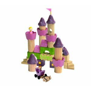 Plan Toys Jeu de construction : Conte de fées (35 pièces)