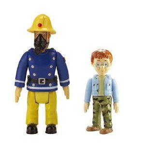 Ouaps Pack 2 figurine Sam le pompier : Sam et Nicolas