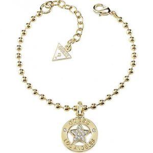 Guess UBB21589 - Bracelet en méétal doré et strass pour femme