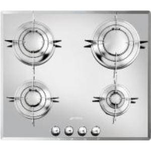 Smeg ptv64 table de cuisson gaz 4 foyers comparer avec - Comparateur de prix gaz ...