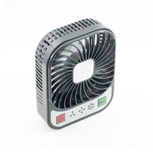 qumox mini ventilateur 3 usb avec led batterie rechargeable int gr. Black Bedroom Furniture Sets. Home Design Ideas