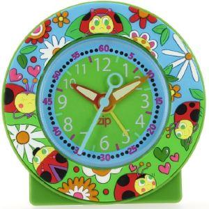 Baby Watch 040 - Réveil pédagogique Coccinelle pour fille