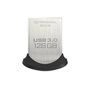 Sandisk SDCZ43-128G-GAM46 - Clé USB 3.0 Ultra Fit 128 Go
