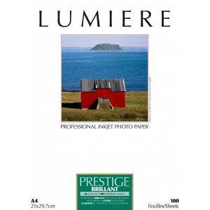 Lumiere LUM3100172 - Papier photo Prestige brillant 25 feuilles A3+