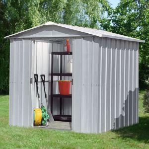 Yardmaster 65ZGEY - Abri de jardin en métal 2,77 m2