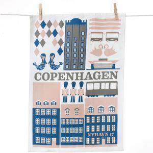 Ferm Living Torchon Copenhagen Tea Towel (50 x 70 cm)
