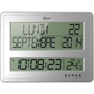 Orium Horloge digitale calendrier