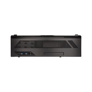 Lian Li PC-O5SX - Boîtier Desktop Mini-ITX HTPC en aluminium et verre trempé