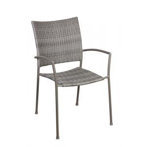 Dellorso Sutra - Chaise pliante avec accoudoirs