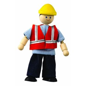 Plan Toys Conducteur d'engin de Chantier