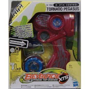 Hasbro Toupie radiocommandée Beyblade avec lanceur
